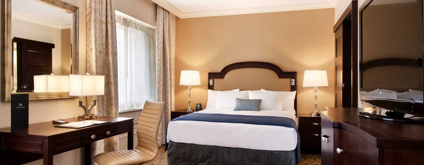 Hotel Capital Hilton, Washington, Distrito de Columbia, EUA – Quarto King