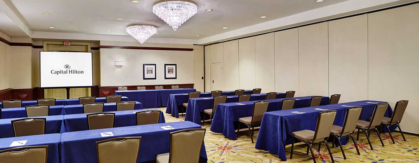 Hotel Capital Hilton, Washington, Distrito de Columbia, EUA – Sala de reunião Federal