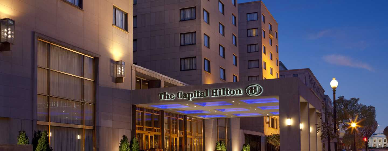Hotel Capital Hilton, Distrito de Columbia, EUA – Exterior