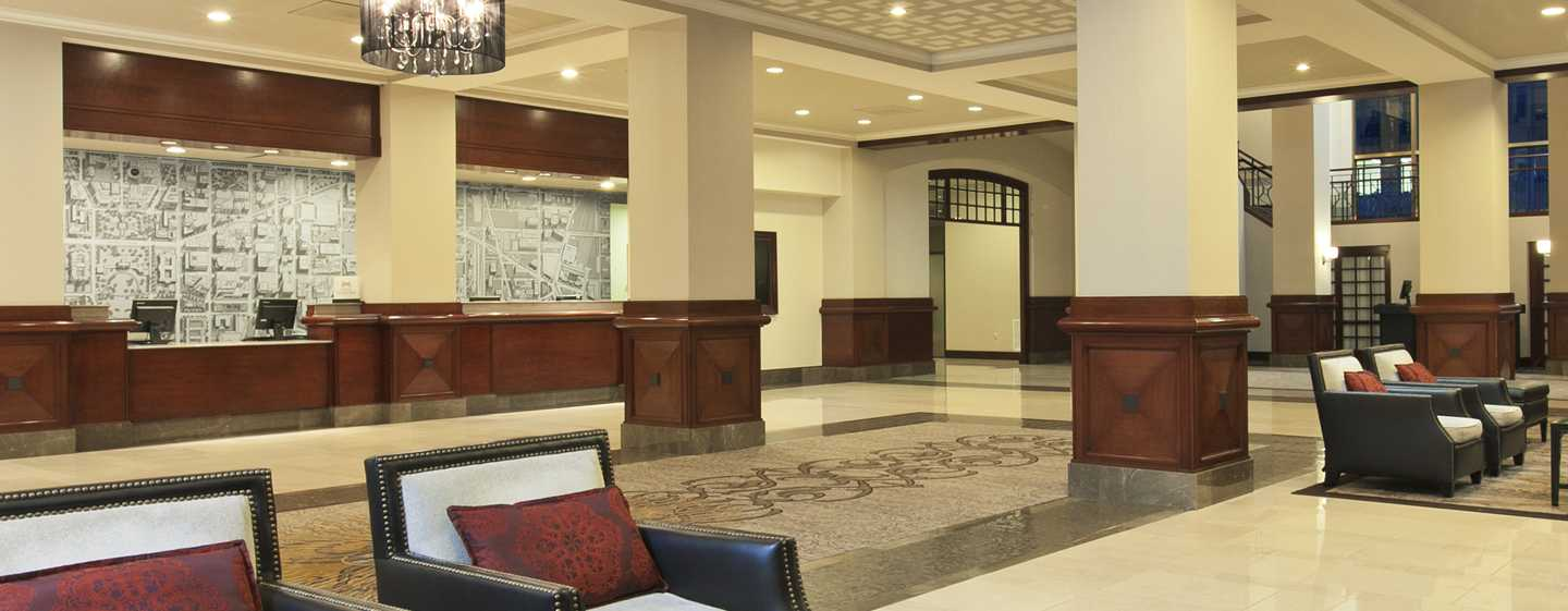 Capital Hilton Hotel, Washington D.C., USA – Hotel-Lobby