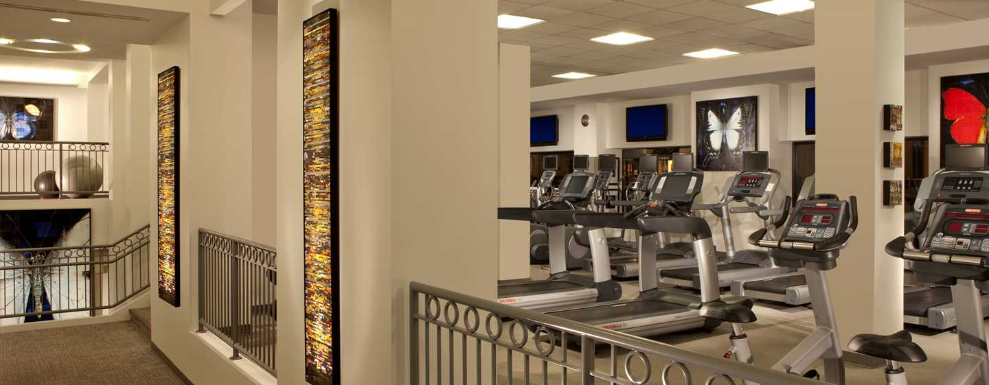 Capital Hilton Hotel, Washington D.C., USA – MINT Fitness Club