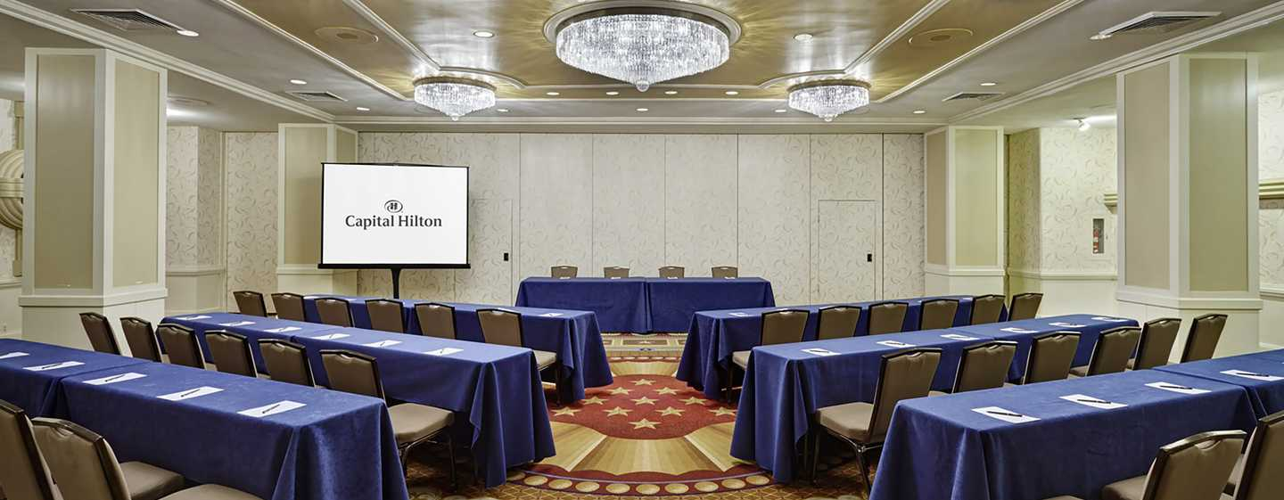 Capital Hilton Hotel, Washington D.C., USA – Meetingräume