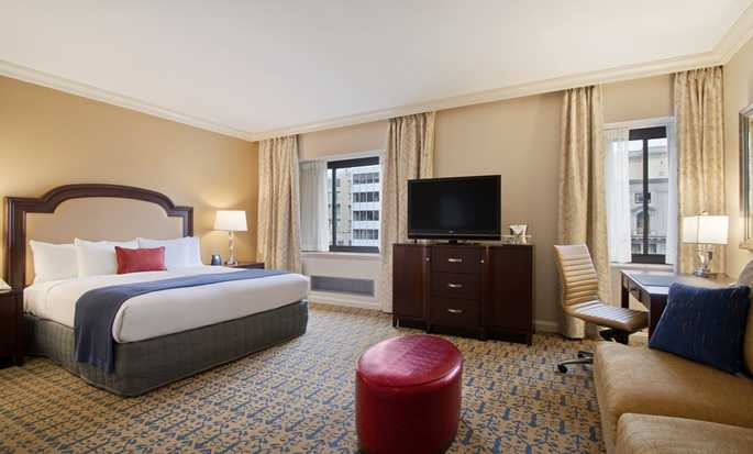 Capital Hilton Hotel, D.C., USA – Hotellrum