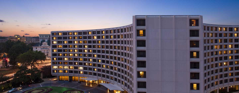Hilton Washington Hotel, USA – Außenbereich des Hotels