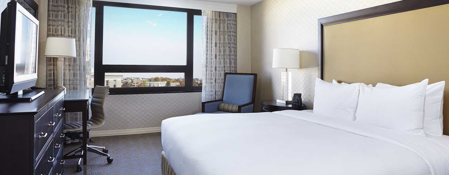 Hotel Hilton Washington, EUA - Quarto King