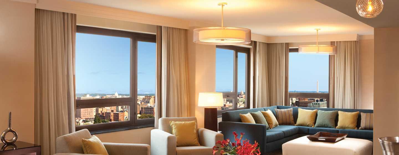 Hilton Washington Hotel, USA – Wohnzimmer der Präsidenten Suite