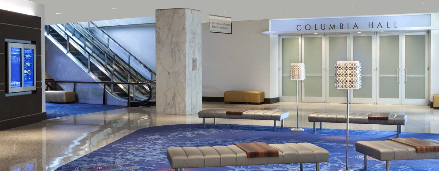 Hilton Washington Hotel, USA – Terrace Lobby