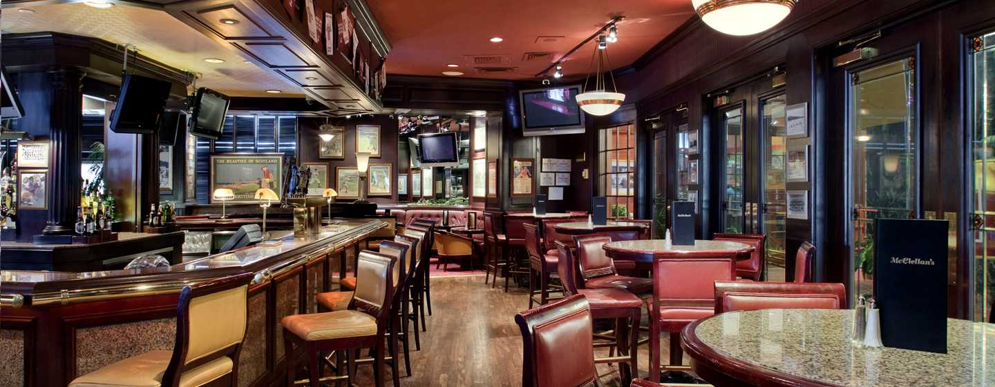 Hotel Hilton Washington, EUA - McClellan's Sports Bar