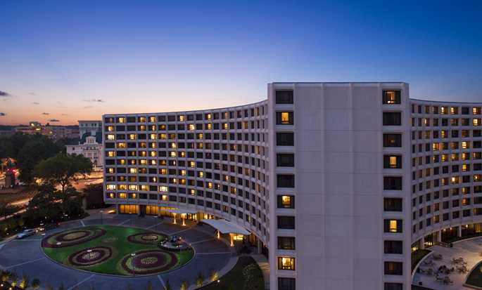 Hotel Hilton Washington, EUA – Exterior do hotel
