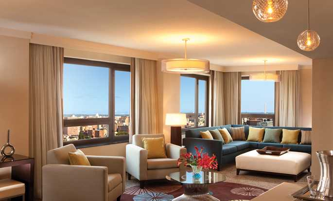 Hilton Washington hotel, U.S. - Presidential Suite Living Room