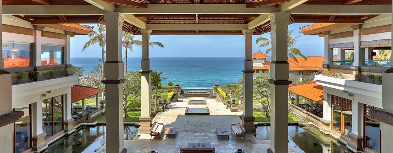 Hilton Bali Resort, Indonesia - Pemandangan Area Lobi
