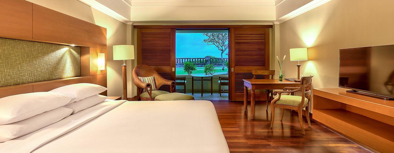Hilton Bali Resort, Indonesia - Kamar Pemandangan Kebun