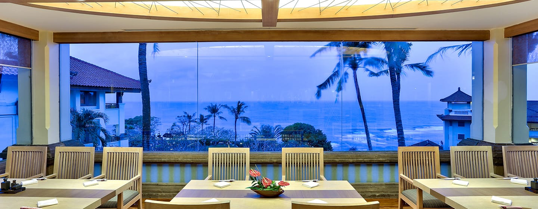 Hilton Bali Resort ประเทศอินโดนีเซีย - ห้องอาหาร Shiki Taiyo