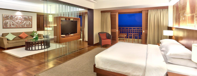 Hilton Bali Resort, Indonesien – Suite mit 1Schlafzimmer und Meerblick
