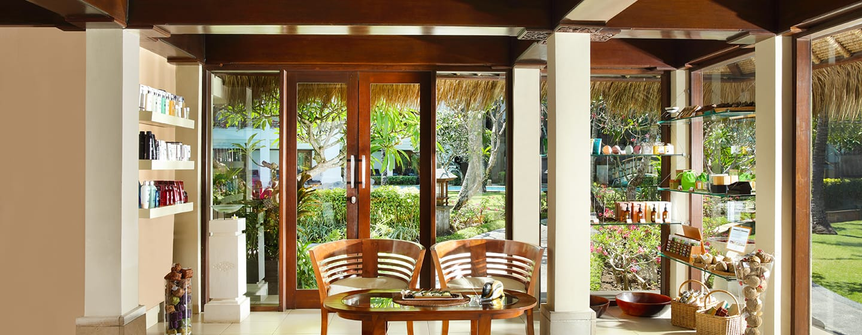 Hilton Bali Resort, Indonesien– Spa, Empfang