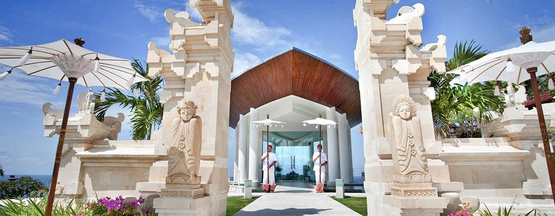 Hilton Bali Resort ประเทศอินโดนีเซีย - โบสถ์จัดพิธีแต่งงาน Wiwaha