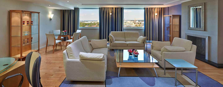 Hôtel Hilton Dusseldorf, Allemagne - Suite Ambassador