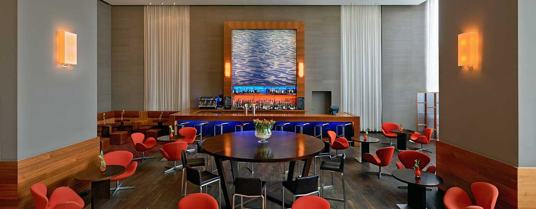 Hôtel Hilton Dusseldorf, Allemagne - Axis Bar & Lounge