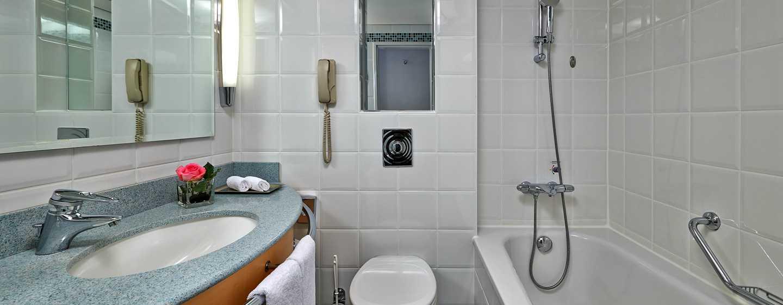 Hôtel Hilton Dusseldorf, Allemagne - Salle de bains