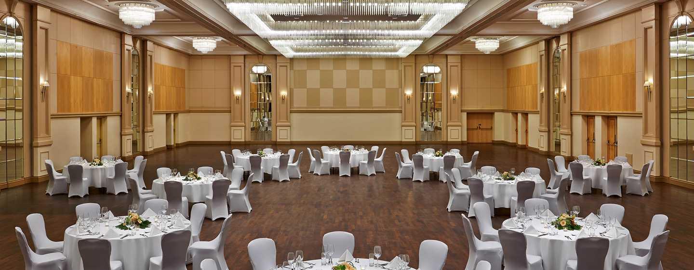 Hôtel Hilton Dusseldorf, Allemagne - Salle de réception Rheinland