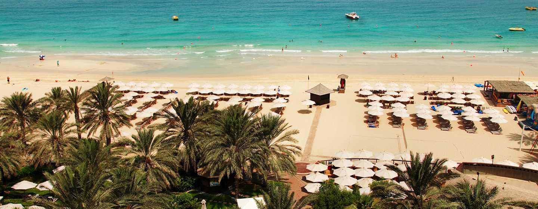 Hilton Dubai the Walk hotel, UAE – Hotellets private strand