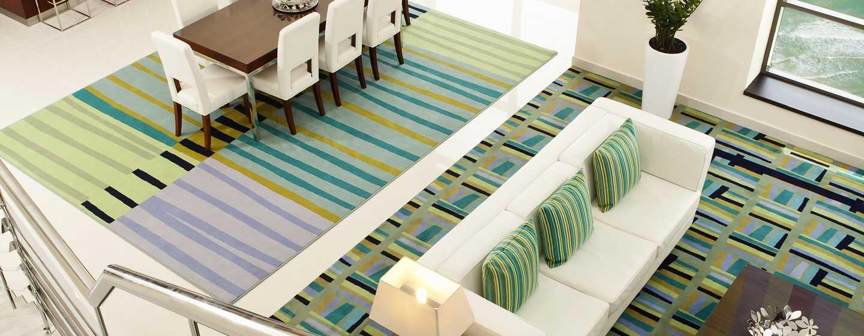 Hilton Dubai the Walk hotel, UAE – Loftslejlighed med 1 soveværelse