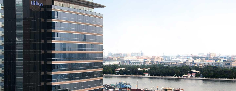 Hilton Dubai Creek Hotel, VAE– Außenbereich