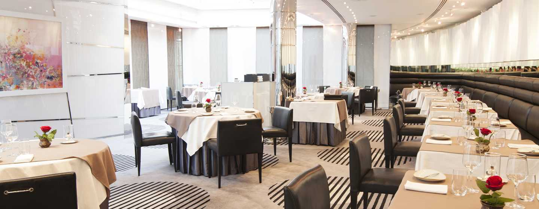 "Hilton Dubai Creek Hotel, VAE– Restaurant ""Table 9"""