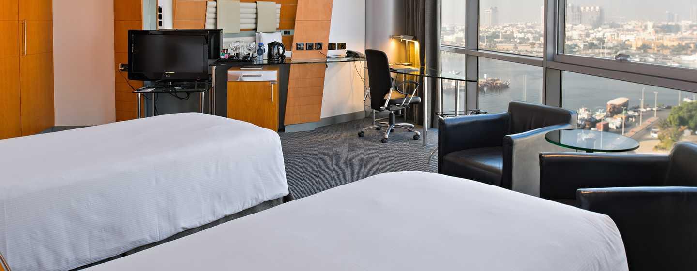 Hilton Dubai Creek Hotel, VAE– Deluxe Zweibettzimmer