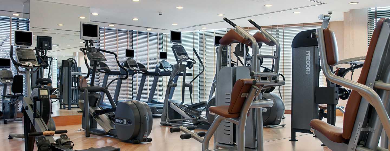 Hilton Dubai Jumeirah Hotel, Dubai, VAE– Fitnesscenter