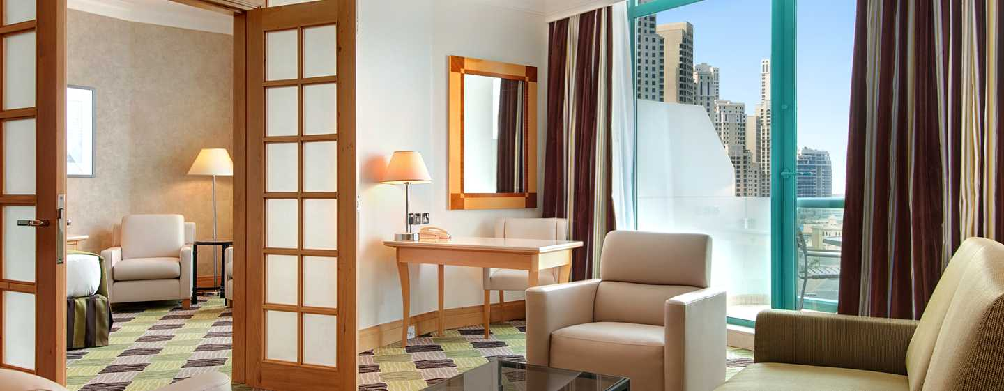 Hilton Dubai Jumeirah Hotel, Dubai, UAE – King Executive-suite