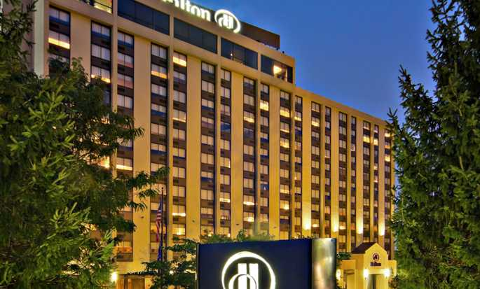 Hilton Hasbrouck Heights/Meadowlands, New Jersey, USA - Hotel exterior