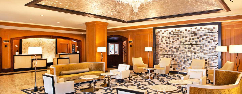 Hilton Short Hills hotel, New Jersey - Lobby e recepção