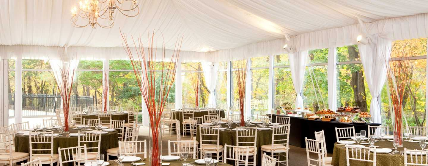 Hilton Short Hills Hotel, New Jersey - Sala Tented