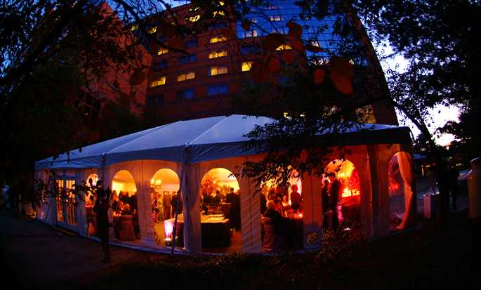 Hilton Short Hills hotel, New Jersey - Tent for special events