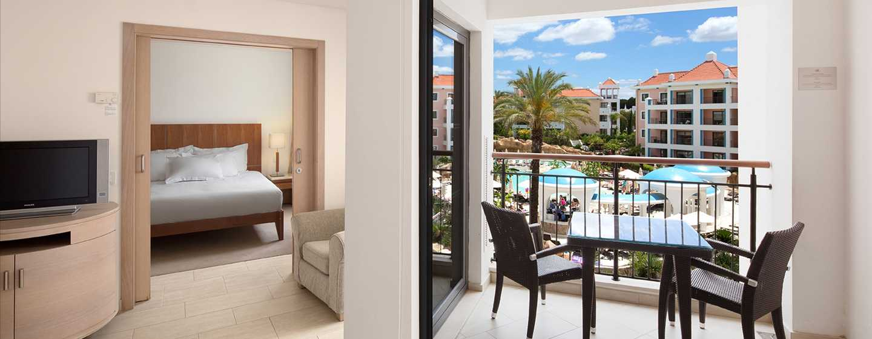 Hilton Vilamoura As Cascatas Golf Resort & Spa, Portugal -  Apartamento T1 com vista para a piscina