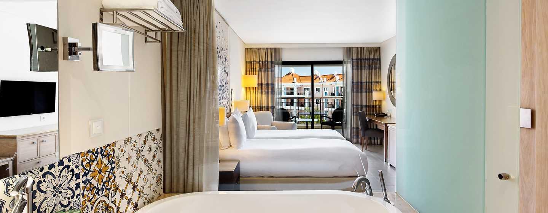 Hilton Vilamoura As Cascatas Golf Resort & Spa, Portugal - Quarto Twin Deluxe