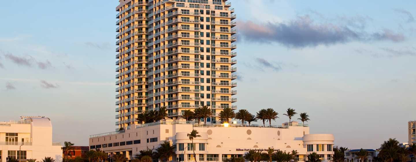 Hilton Fort Lauderdale Beach Resort Hotel Fl Usa Exterior