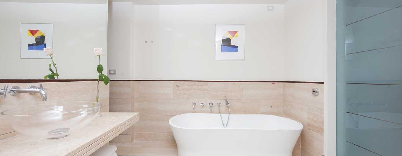 Hôtel Hilton Florence Metropole - Salle de bains d'une suite