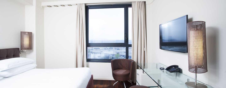 Hôtel Hilton Florence Metropole, Italie - Chambre Hilton avec vue sur la ville