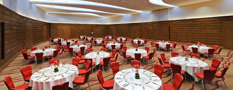 Hilton Frankfurt Airport Hotel, Deutschland– Ballsaal Globe
