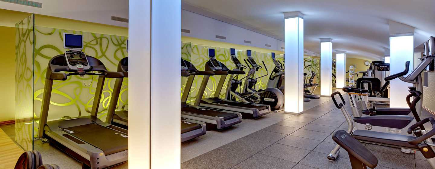 Hilton Frankfurt Airport Hotel, Deutschland – Fitness Center