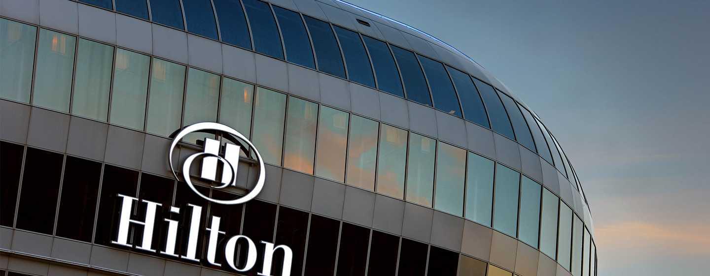 Hotel Hilton Frankfurt Airport, Alemania - Fachada de THE SQUAIRE