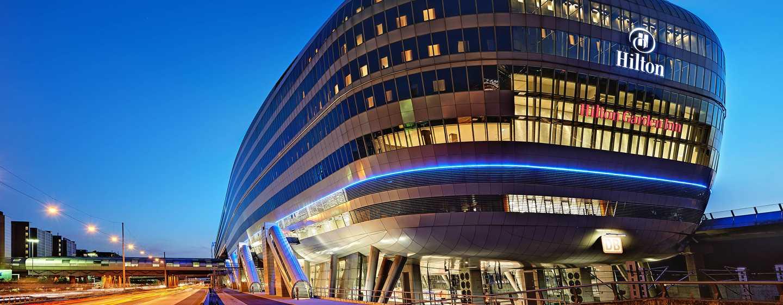 Hilton Frankfurt Airport Hotel, Deutschland– Außenbereich des THE SQUAIRE