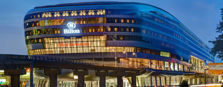 Hotel Hilton Frankfurt Airport, Alemania - Fachada del hotel