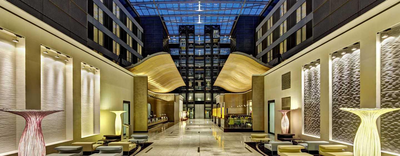 Hotel Hilton Frankfurt Airport, Alemania - Lobby del hotel