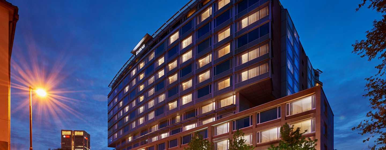 Hôtel Hilton Frankfurt City Centre, Allemagne - Bienvenue