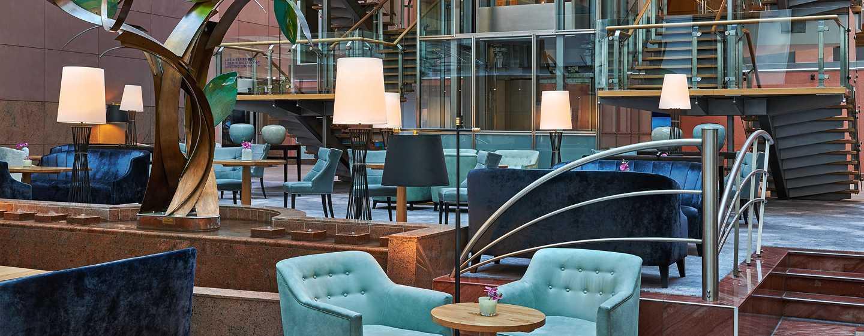 Hilton Frankfurt City Centre Hotel, Deutschland – Bar & Lounge Vista