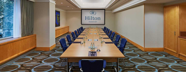 Hilton Frankfurt City Centre Hotel, Deutschland– Kleiner Meetingraum