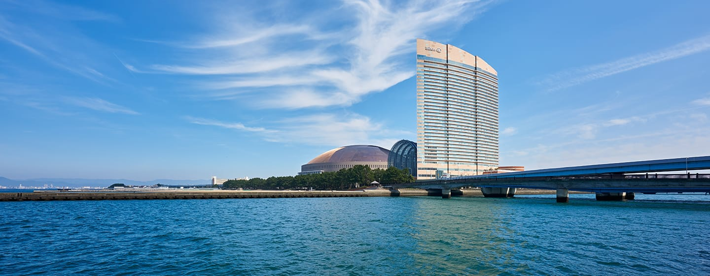 โรงแรม Hilton Fukuoka Sea Hawk ญี่ปุ่น - ภายนอกโรงแรม